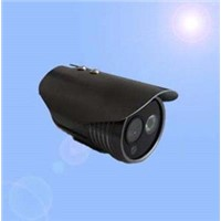 IR waterproof bullet camera 50 meters infrared distance for day / night vision