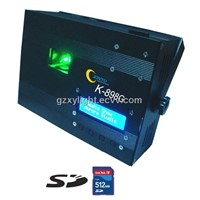 K-898G SD Card Mini Laser with long distance green laser pointer 80mw
