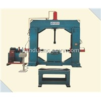 Lingking&straightening machine for formed steel pipe