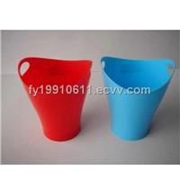 Plastic mini waste bin, plastic garbage box; garbage can; rubbish bin
