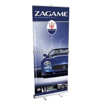 retractable pull up banner stand