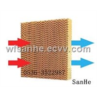 SANHE Evaporative Cooling Pads for greenhouses and livestock breeding/humidify cooling equipment