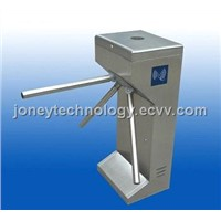 Security turnstile gate barrier