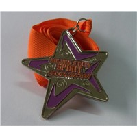 Star metal medallions