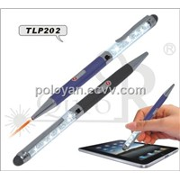 2 IN 1 touch screen pen with laser pointer