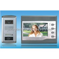 Video Door Phone Set 7 Inch LCD Door Phone / Door Station with CCD Camera