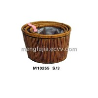 Wicker laundry baskets (M10255 S/3)