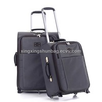 XXS-1018# black nobel trolley luggage for men