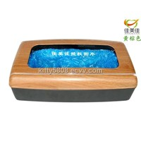 Yellow Brown Automatic Shoe Cover Dispenser
