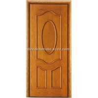 carved wooden skin door FO-026