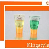 conditoner in shampoo bath gel body lotion in tube for hotel use