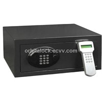 hotel laptop safe with audit trail function