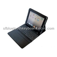 iPad 2 Case with Silicone Bluetooth Keyboard