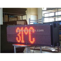 led time temperaturesign