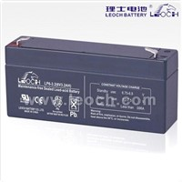 low self-discharge lead acid battery 6V,3.2AH