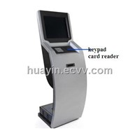 self-service all in one touch kiosk enclosure