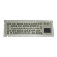 vandal proof IP65 Industrial Metal Keyboard with Touchpad