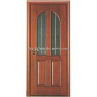wooden glass door FJ-012B