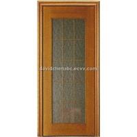 wooden glass door FJ-045B