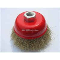 steel wire cup brush 2