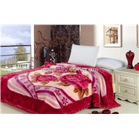 100%Polyester double bed 2*2.4m hotel home blanket