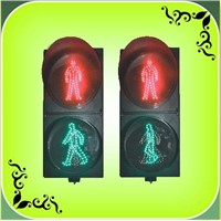 "200mm(8"") Dynamic LED Pedestrian Traffic Light (RX200-3-25-1B)"