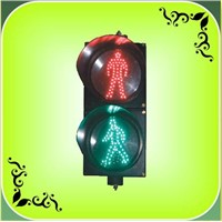 "200mm(8"") LED Static Pedestrian Traffic Light (RX200-3-25-1A)"