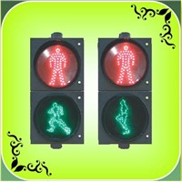 "200mm(8"") Running Pedestrian Traffic Light (RX200-3-25-1E)"