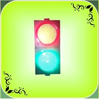 300mm Small Lens Red + Green LED Traffic Light (JD300-3-25-3A)