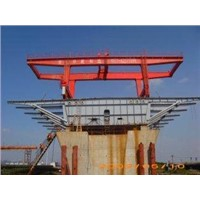 Bridge Beam Lifter Crane Launched by Hydraulic System