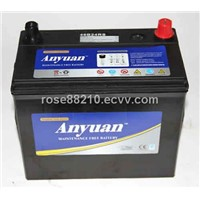 12V 46B24R/L High Peformance Japan Standard Maitnenance Free Auto Battery