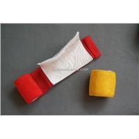 Cohesive trauma dressing bandage