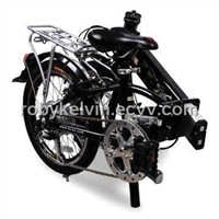 Electric Bike with  folded size:83*37*65cm and Li-ion Battery, EN 15194/CE Marks