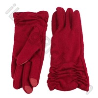 Touch Gloves For iPhone/iPad/Other Touch Screen Mobilephone-Red Short