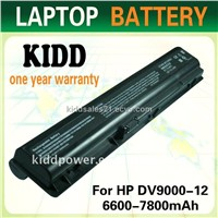 cheap laptop battery For HP DV9000-12