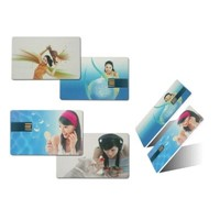 Bussiness Card USB Flash Memory / Promotional Card USB