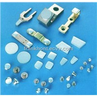 electric contact electrical contact Silver Contact tip contactor