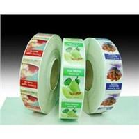 fruit printing paper sticker