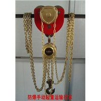 non-sparking chain hoist/ chain hoist