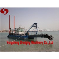 10 inch sand dredge with dredging depth 10m