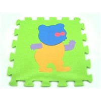 10pcsx EVA Puzzle Mats, Kids Cartoon Puzzle Mats(animal