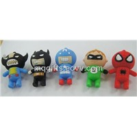 2d/3d Lovely Cartoon Shape USB Flash Drive