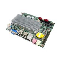3.5 inch embed Industrial Motherboard, Onboard Intel N550 CPU,6 COM Port,support VGA,LVDS,WIFI
