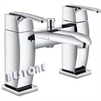UK England British Two Handle Bath/Shower Mixer, Faucet, Tap Deck-Mounted