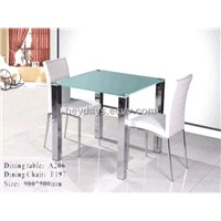 A206 Glass Dining Table