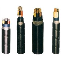 Aluminum conductor XLPE insulated PVC sheath Electric Power Cable