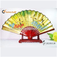 Bamboo & Paper Craft Gift Fan