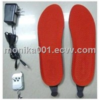 1400mAh Electronics Remote Control Heated Insoles  Foot warmer