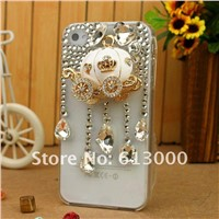 Best festival gifts pumpkin carriage phone covers for iphone 4 iphone 4s