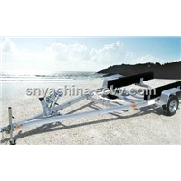 Aluminum Boat Trailer  (single axle)